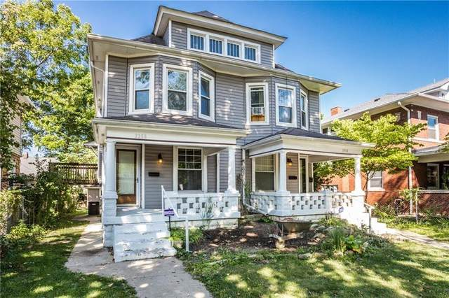 3308-3310 Central Avenue, Indianapolis, IN 46205 (MLS #21770463) :: The Evelo Team