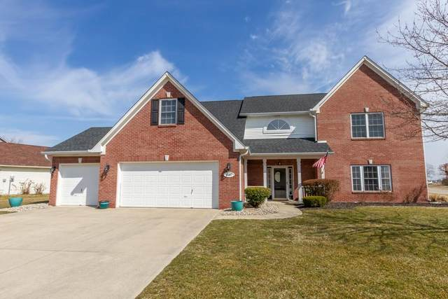 1107 Bennington Court, Greenwood, IN 46143 (MLS #21770503) :: Mike Price Realty Team - RE/MAX Centerstone