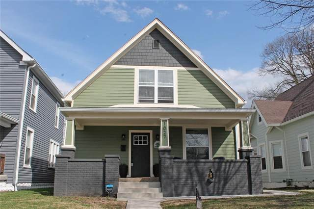 1027 N Tacoma Avenue, Indianapolis, IN 46201 (MLS #21770511) :: Anthony Robinson & AMR Real Estate Group LLC