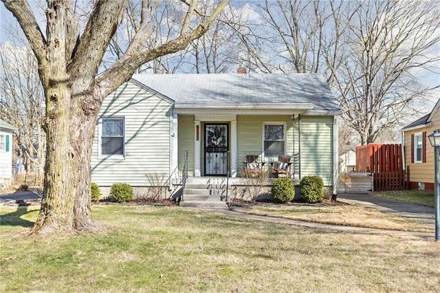 6117 Evanston Avenue, Indianapolis, IN 46220 (MLS #21770594) :: The Indy Property Source