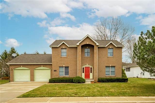 4391 Kestrel Court, Columbus, IN 47203 (MLS #21770649) :: The Indy Property Source