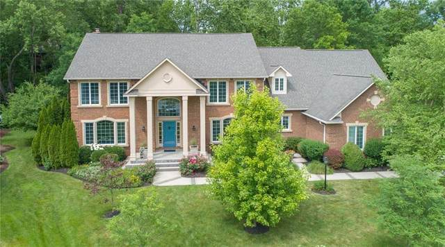 8520 Williams Cove Court, Indianapolis, IN 46260 (MLS #21770686) :: The Evelo Team