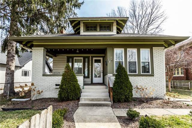4025 N College Avenue, Indianapolis, IN 46205 (MLS #21770703) :: Ferris Property Group