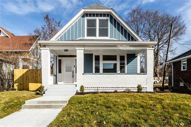 1622 E Vermont Street, Indianapolis, IN 46201 (MLS #21770717) :: The Indy Property Source