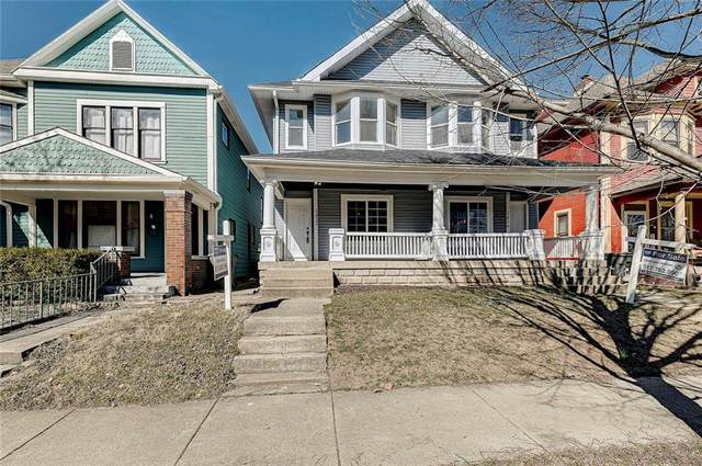 1422-1424 E Ohio Street, Indianapolis, IN 46201 (MLS #21770766) :: The Indy Property Source