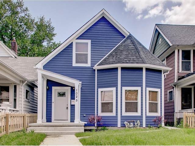 1025 Dawson Street, Indianapolis, IN 46203 (MLS #21770793) :: The Evelo Team