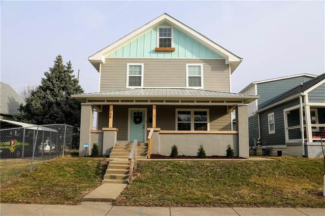 734 Lincoln Street, Indianapolis, IN 46203 (MLS #21770874) :: The Evelo Team