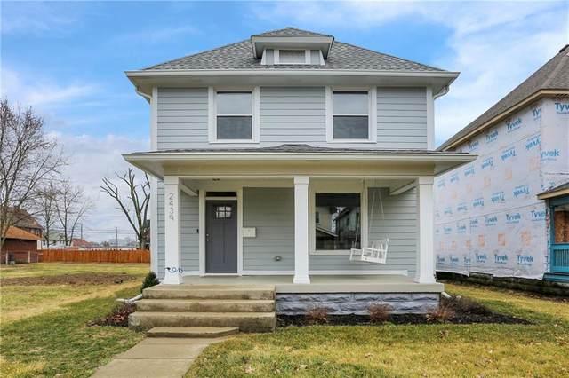 2439 Carrollton Avenue, Indianapolis, IN 46205 (MLS #21770944) :: Heard Real Estate Team | eXp Realty, LLC