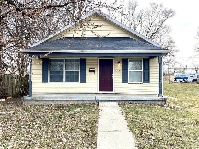2601 Station Street, Indianapolis, IN 46218 (MLS #21771033) :: RE/MAX Legacy