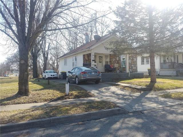 1307 W 13TH Street, Anderson, IN 46016 (MLS #21771151) :: The Indy Property Source