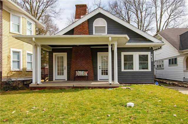 4635 N College Avenue, Indianapolis, IN 46205 (MLS #21771237) :: Anthony Robinson & AMR Real Estate Group LLC