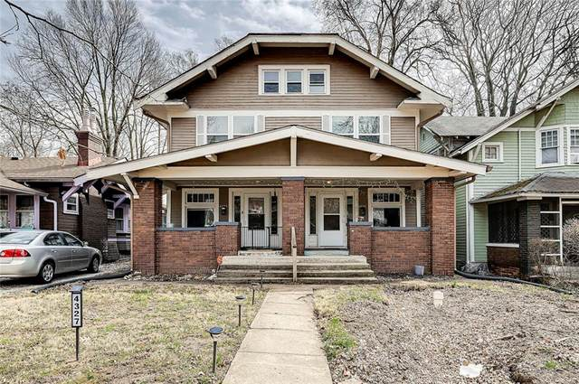4325 N College Avenue, Indianapolis, IN 46205 (MLS #21771260) :: Anthony Robinson & AMR Real Estate Group LLC