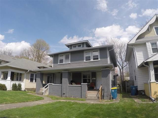 4617 N College Avenue, Indianapolis, IN 46205 (MLS #21771261) :: Anthony Robinson & AMR Real Estate Group LLC