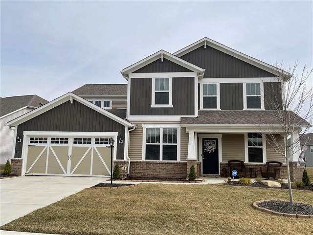 9305 Cobble Court, Avon, IN 46123 (MLS #21771283) :: Mike Price Realty Team - RE/MAX Centerstone