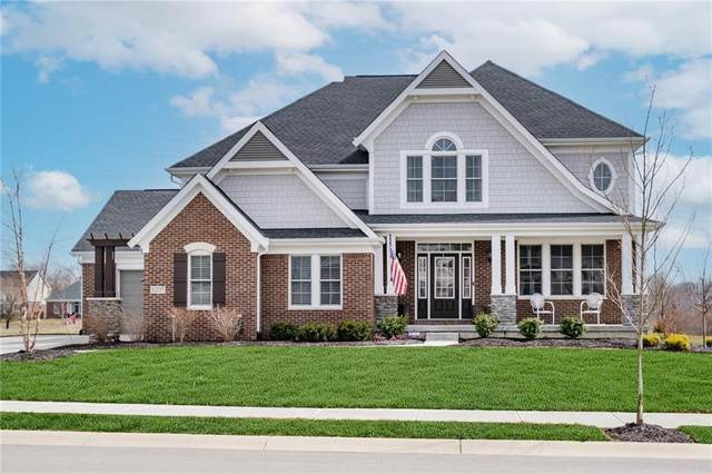 12237 Hidden Point Court, Fishers, IN 46037 (MLS #21771408) :: Mike Price Realty Team - RE/MAX Centerstone