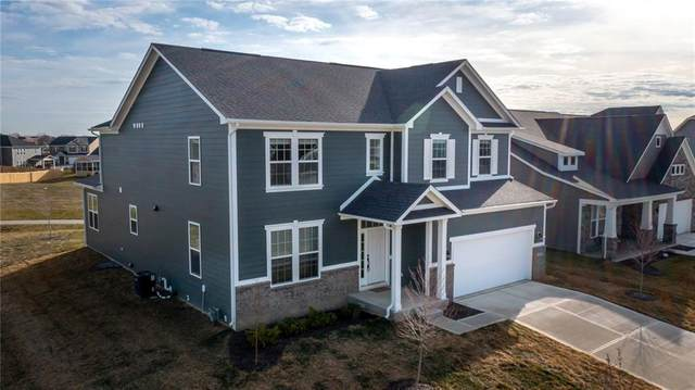 15801 Turntable Court, Westfield, IN 46074 (MLS #21771496) :: The Evelo Team
