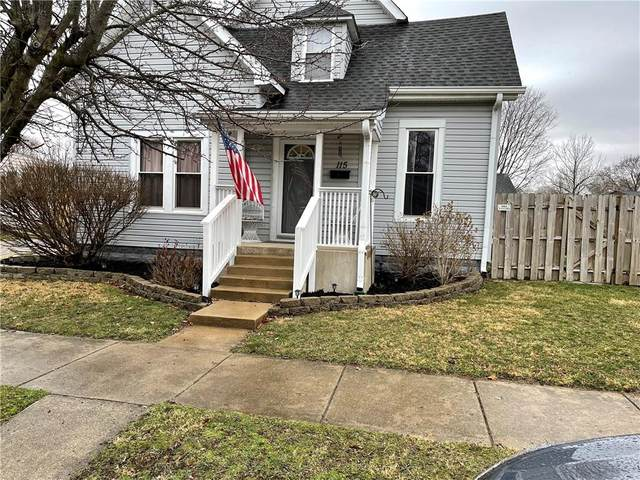 115 Baldwin Street, Greenfield, IN 46140 (MLS #21771530) :: The Indy Property Source