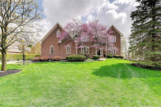 7099 Fox Hollow Ridge, Zionsville, IN 46077 (MLS #21771618) :: The Indy Property Source