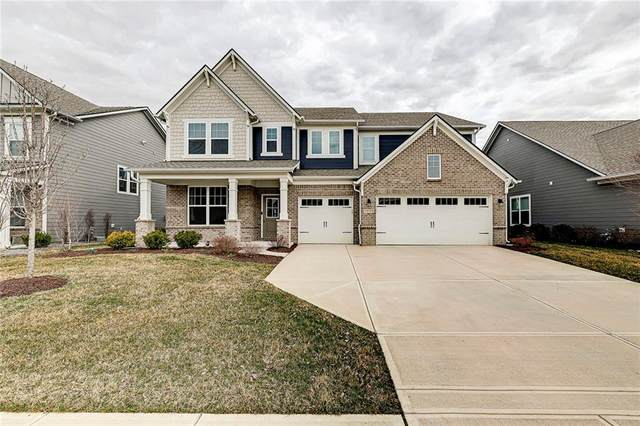 15784 Barnard Drive, Noblesville, IN 46062 (MLS #21771709) :: The Indy Property Source