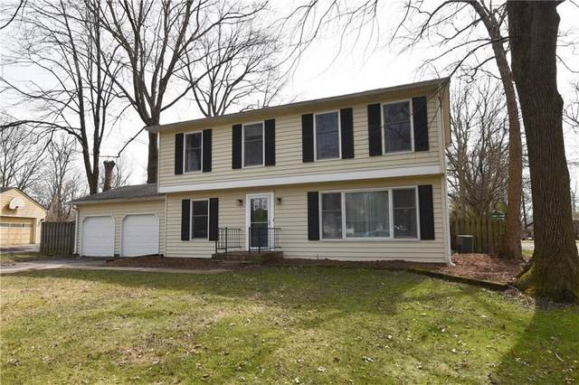 3211 Melbourne Road South Drive, Indianapolis, IN 46228 (MLS #21771719) :: The Indy Property Source