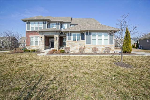 14930 Dennison Drive, Fishers, IN 46037 (MLS #21771738) :: The Evelo Team