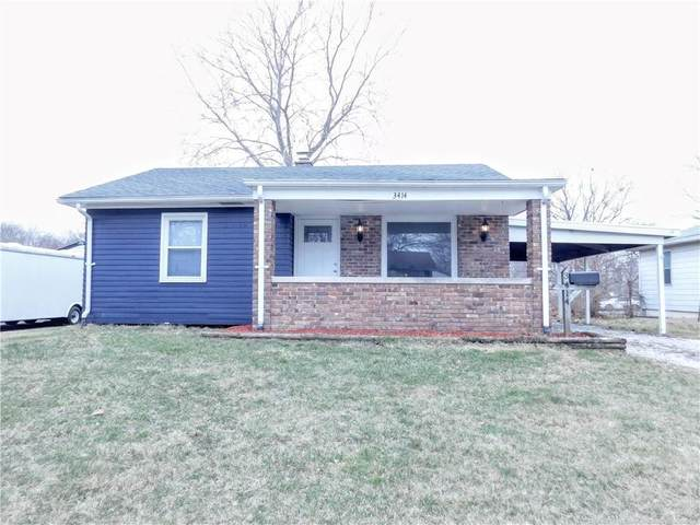 3414 Tiffany Drive, Indianapolis, IN 46226 (MLS #21771829) :: The Indy Property Source