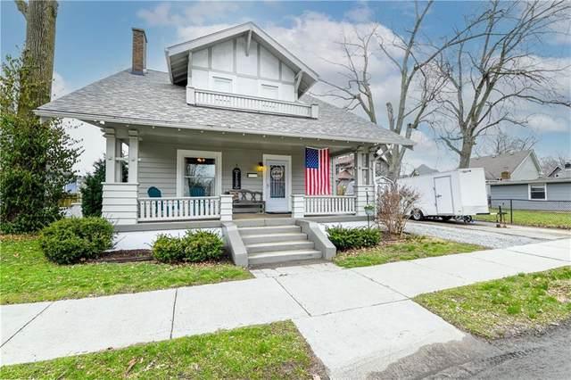 132 N Spring Street N, Greenfield, IN 46140 (MLS #21771912) :: Mike Price Realty Team - RE/MAX Centerstone