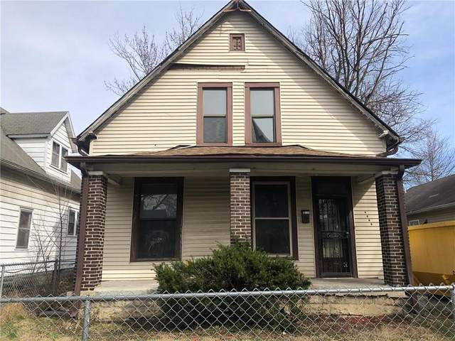 2321 N Dearborn Street, Indianapolis, IN 46218 (MLS #21771960) :: RE/MAX Legacy