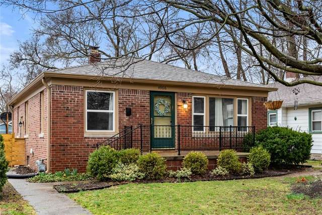 4906 Kingsley Dr, Indianapolis, IN 46205 (MLS #21773079) :: RE/MAX Legacy