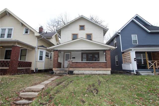 1308 N Oakland Avenue, Indianapolis, IN 46201 (MLS #21773088) :: Heard Real Estate Team | eXp Realty, LLC