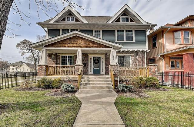 3028 N Park Avenue, Indianapolis, IN 46205 (MLS #21773278) :: The Indy Property Source