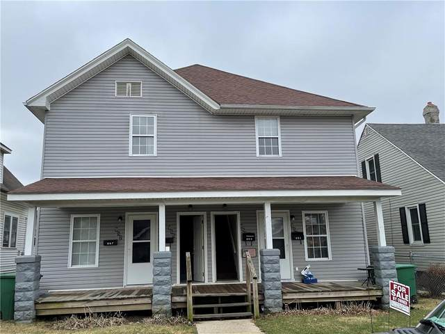 951 S 22nd Street, New Castle, IN 47362 (MLS #21773410) :: The Indy Property Source