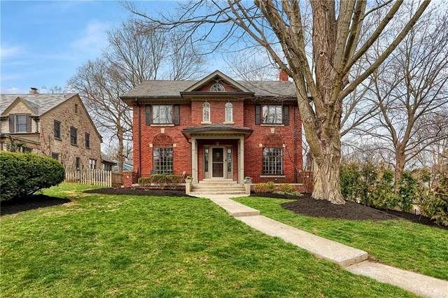 5896 Washington Boulevard, Indianapolis, IN 46220 (MLS #21773417) :: The Indy Property Source