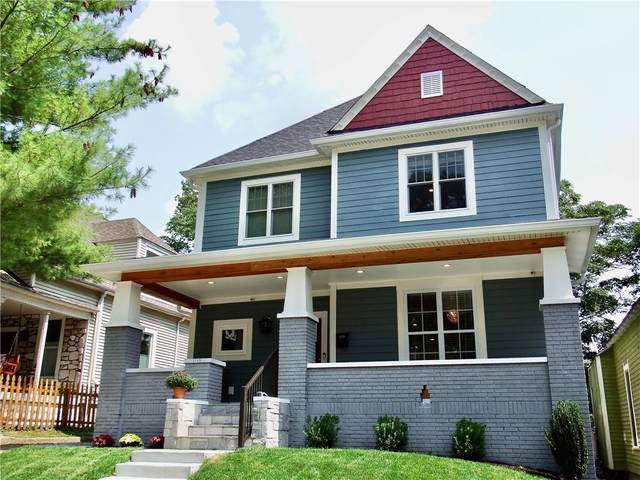 1115 Newman Street, Indianapolis, IN 46201 (MLS #21773422) :: The Indy Property Source