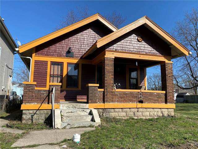 537 N Belmont Avenue, Indianapolis, IN 46222 (MLS #21773467) :: The Indy Property Source