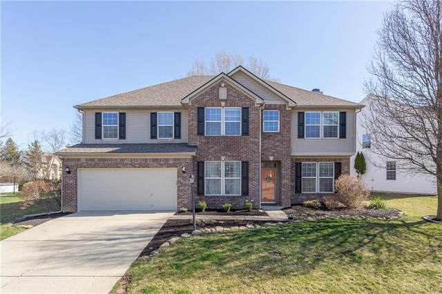 9564 Valley Springs Boulevard, Fishers, IN 46037 (MLS #21773512) :: The Evelo Team
