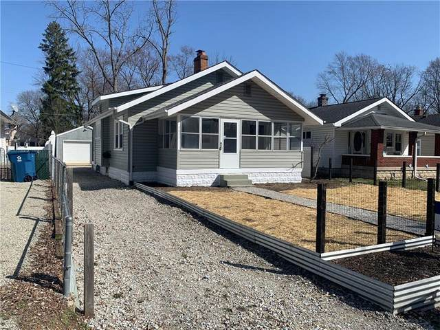 4853 Rosslyn, Indianapolis, IN 46205 (MLS #21773551) :: RE/MAX Legacy