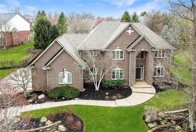 7519 Fox Hollow Ridge, Zionsville, IN 46077 (MLS #21773599) :: Anthony Robinson & AMR Real Estate Group LLC