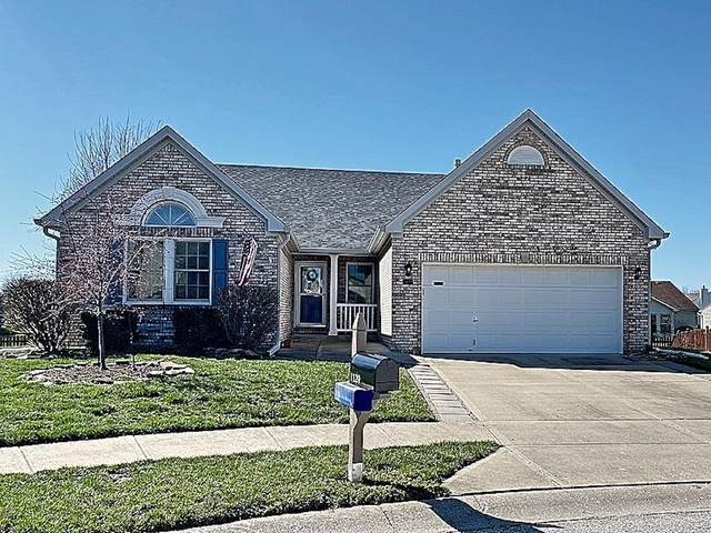 1129 Berrywood Drive, Greenwood, IN 46143 (MLS #21773603) :: Heard Real Estate Team | eXp Realty, LLC
