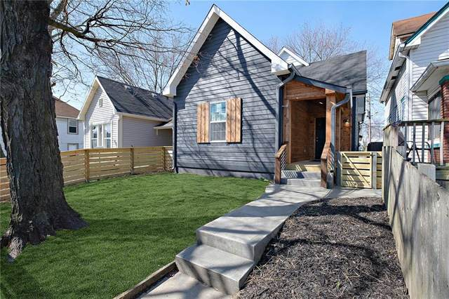 1654 S Talbott Street, Indianapolis, IN 46225 (MLS #21773652) :: Ferris Property Group
