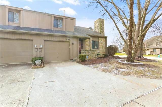 581 Conner Creek Drive, Fishers, IN 46038 (MLS #21773678) :: RE/MAX Legacy