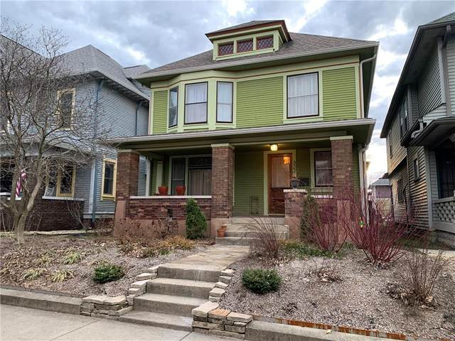 322 N Arsenal Avenue, Indianapolis, IN 46201 (MLS #21773724) :: The Indy Property Source