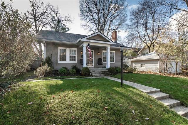717 E 55TH Street, Indianapolis, IN 46220 (MLS #21773731) :: Mike Price Realty Team - RE/MAX Centerstone