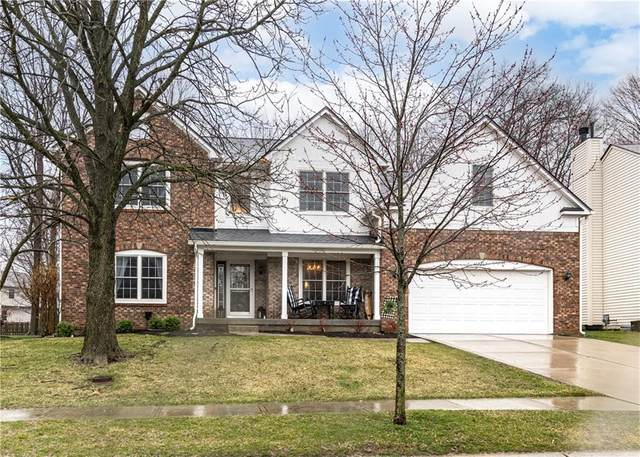 12268 Cobblestone Drive, Fishers, IN 46037 (MLS #21773800) :: Mike Price Realty Team - RE/MAX Centerstone
