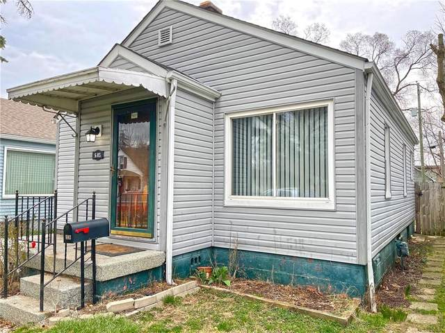 603 N Livingston Avenue, Indianapolis, IN 46222 (MLS #21773931) :: The Indy Property Source