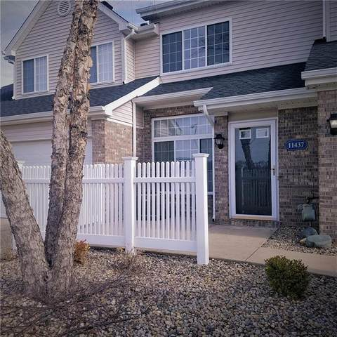 11437 Enclave Boulevard, Fishers, IN 46038 (MLS #21773945) :: The Indy Property Source