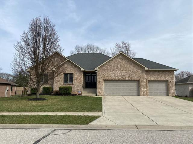 3645 Morningside Drive, Greenwood, IN 46143 (MLS #21773962) :: The Evelo Team
