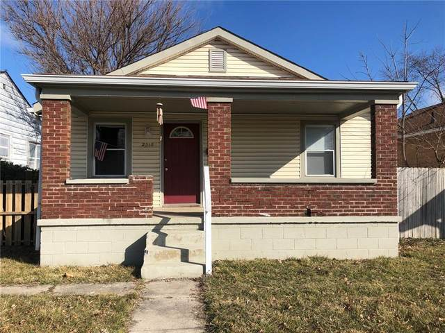 2318 E Raymond Street, Indianapolis, IN 46203 (MLS #21773970) :: Heard Real Estate Team | eXp Realty, LLC