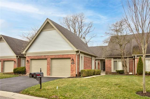 9318 W Spring Forest Drive, Indianapolis, IN 46260 (MLS #21774097) :: Anthony Robinson & AMR Real Estate Group LLC