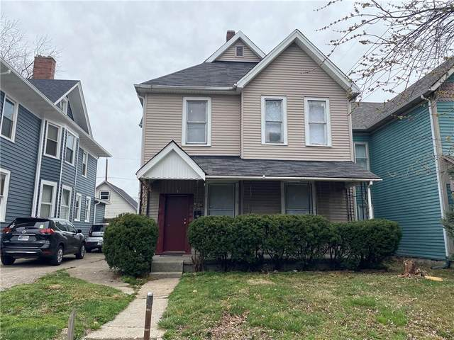 1328 E Ohio Street, Indianapolis, IN 46202 (MLS #21774188) :: Heard Real Estate Team | eXp Realty, LLC